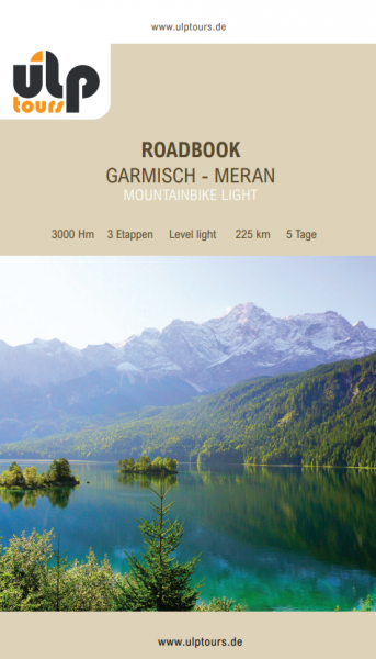 eRoadbook MTB Garmisch - Meran Light