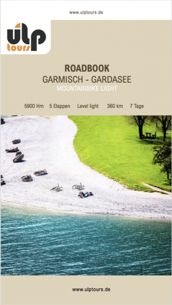 Roadbook Garmisch - Gardasee Light