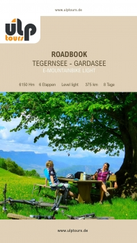 eRoadbook E-Mountainbike Tegernsee - Gardasee light